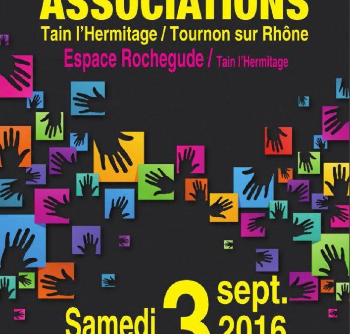 Forum des Associations Samedi 3 Septembre 2016