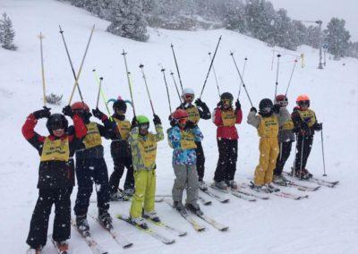 Souvenirs école de ski 2018/2019