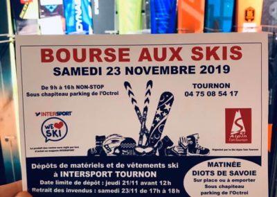 Bourse aux skis 2019