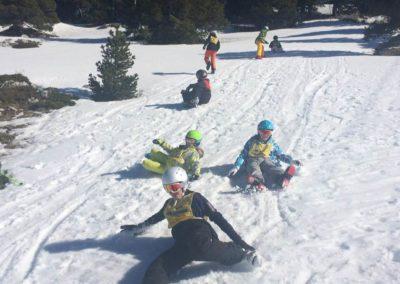 1ère semaine de stage de l'école de ski