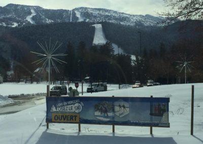 2ème semaine de stage Ecole de ski